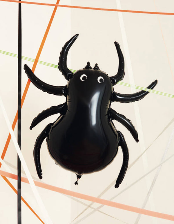 Kids Halloween Party Balloons_Meri Meri_Giant-Spider-Balloon