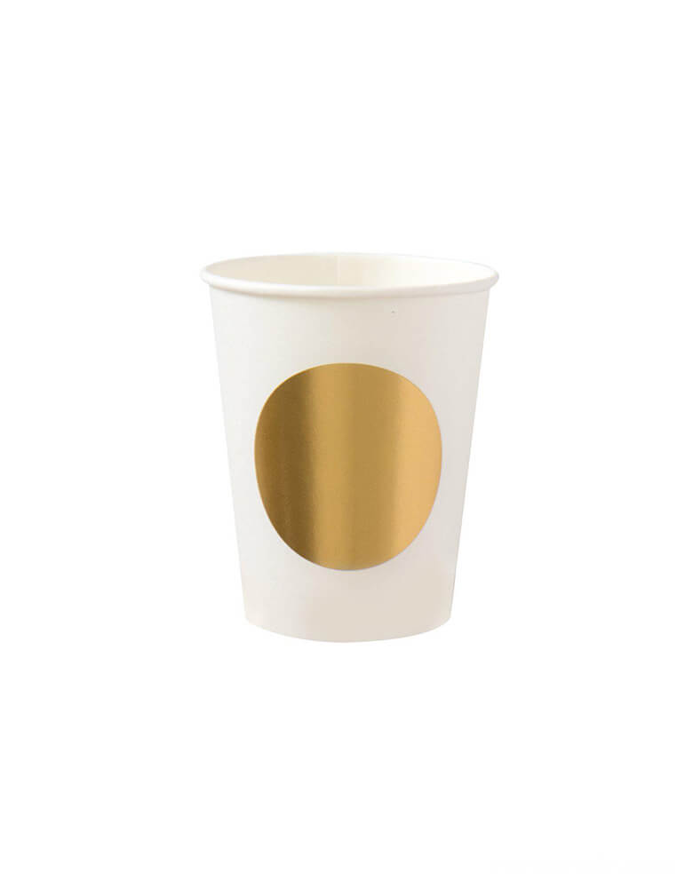Oh Happy Day - Gold Dot Cups