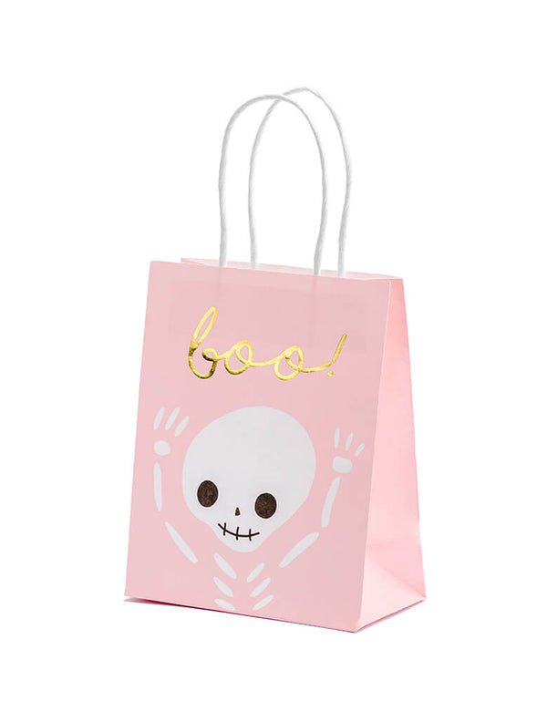Halloween Boo! Pink Party Bags (Set of 6)