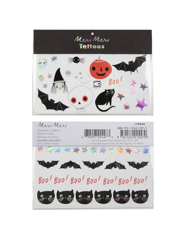 Meri Meri_Halloween-Icon-Tattoos_Kids Halloween Party Favor Ideas