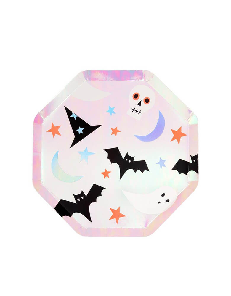 Meri Meri_Halloween-Icons-Side-Plates_Kids Halloween Party Supplies
