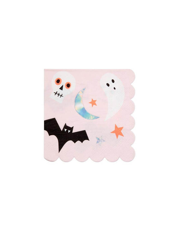 Meri Meri Halloween Icons Small Napkins 5 inches