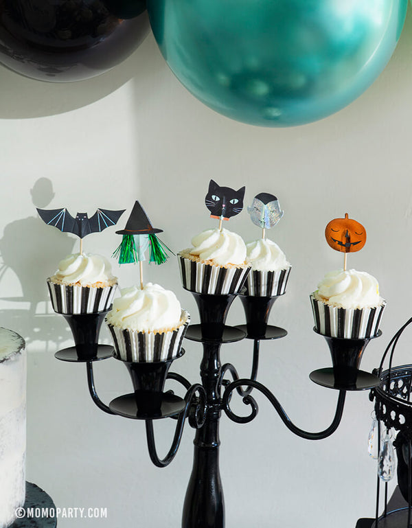 Halloween Motif Cupcake Kit (Set of 24)