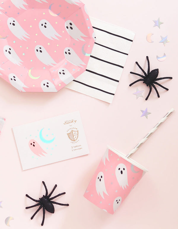 Daydream Society_Halloween Spooked Party Supplies for a pink Halloween party