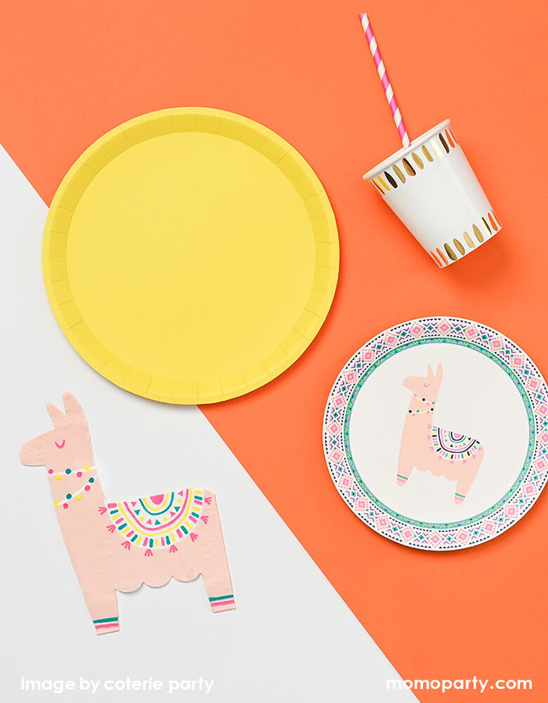 Happy Llama Paper Napkins (Set of 25)