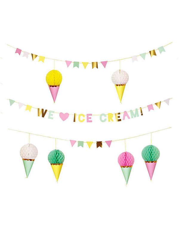 Meri Meri_Ice-Cream-Garland Set