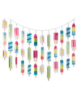 Cakewalk 8 ft Ice Lolly Garland