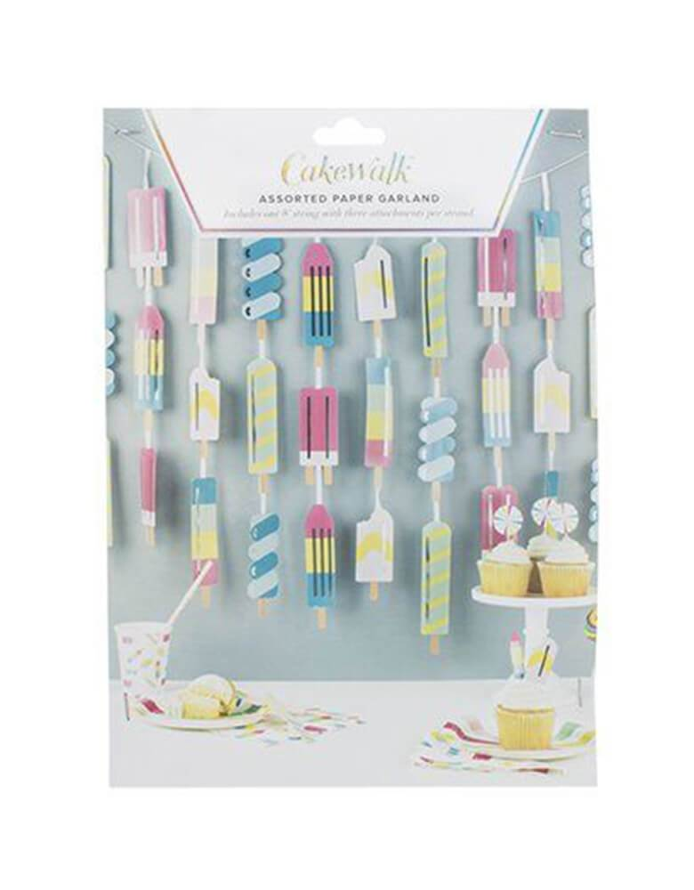 Cakewalk 8 ft Ice Lolly Garland in package