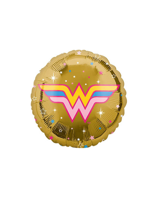 "Anagram 18"" Junior-Wonder-Woman-Round-Foil-Balloon"