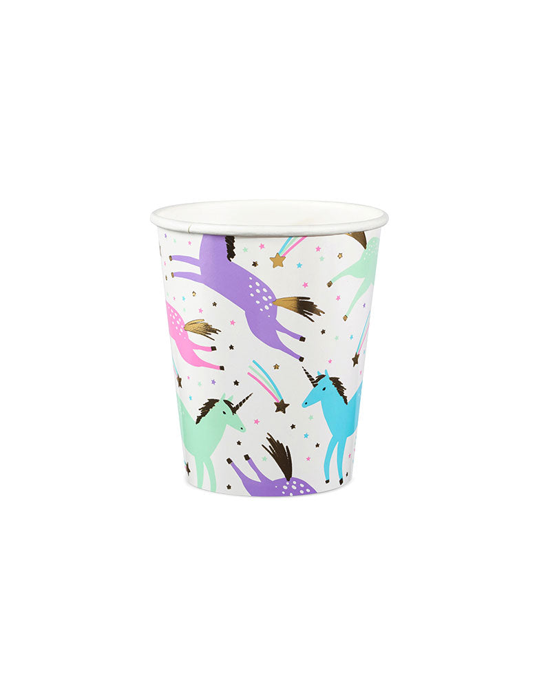 Magical Unicorn Cups (Set of 8)