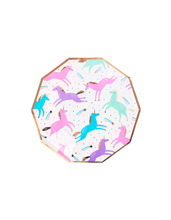 Day Dream Society magical unicorn small paper plates