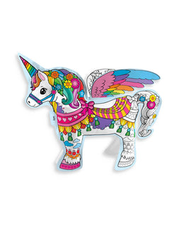 Colorable Magical Unicorn inflate Toy