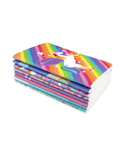 Unicorn Mini Pocket Pal Journals (Set of 8)