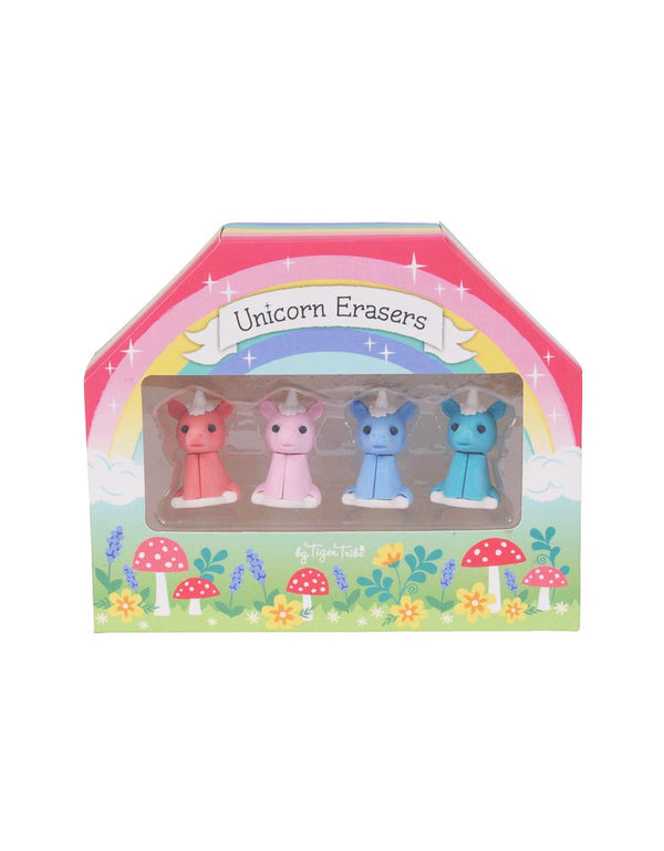 Unicorn Erasers (4 Pack) - Novelty Toy by Schylling (61409)