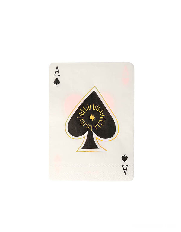 Magic Aces Napkins (Set of 16)