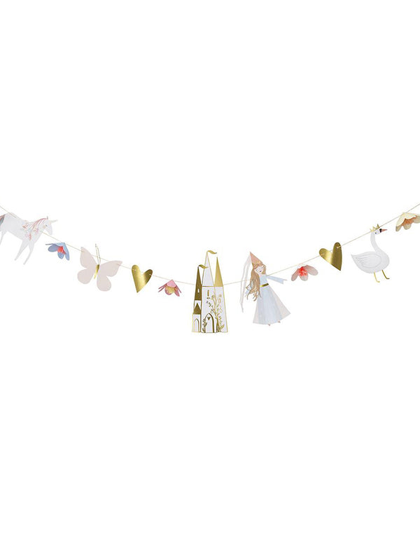 Meri Meri_Magical-Princess-Garland_Princess Party Ideas
