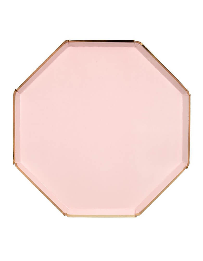 Meri Meri 10.25 inches Pale Pink Large Dinner Plates Set of 8