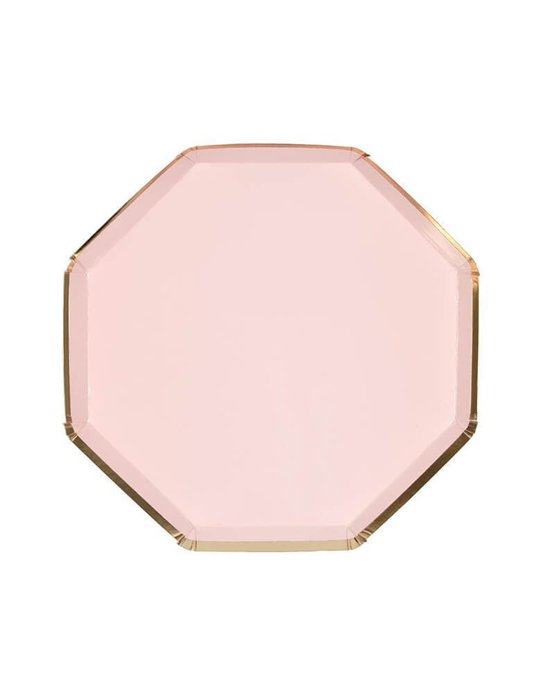 Meri Meri 8.25 inches Pale Pink Plates Set of 8