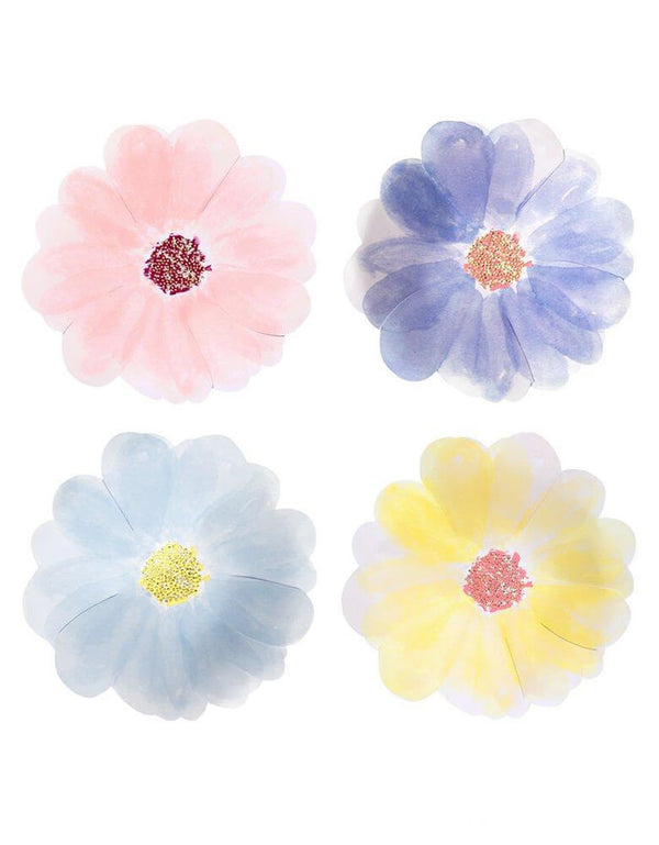 Flower Garden Small Plates (Set of 8)