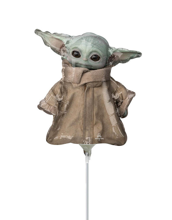Star Wars Mandalorian The Child Yoda Baby Mini Foil Balloon