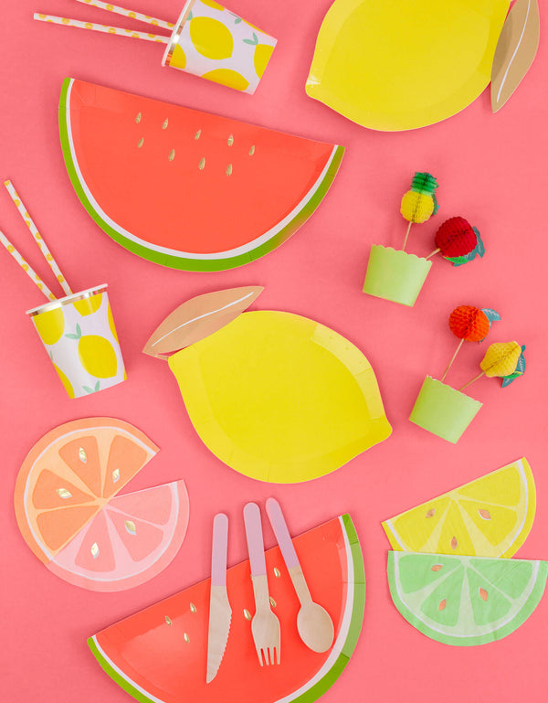 Party-ware inspiration for Fruit themed birthday