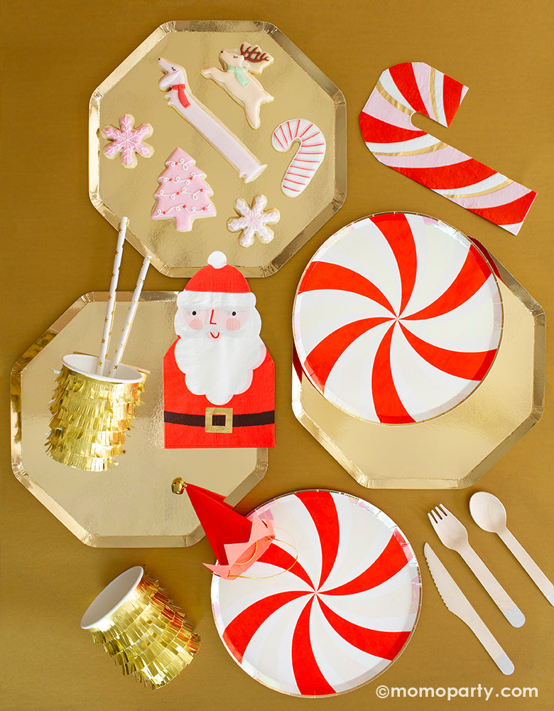 Candy Cane Glam Holiday Boxes