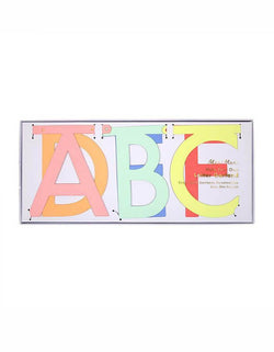 Meri Meri Multicolor-Make-Your-Own-Letter-Garland-Kit