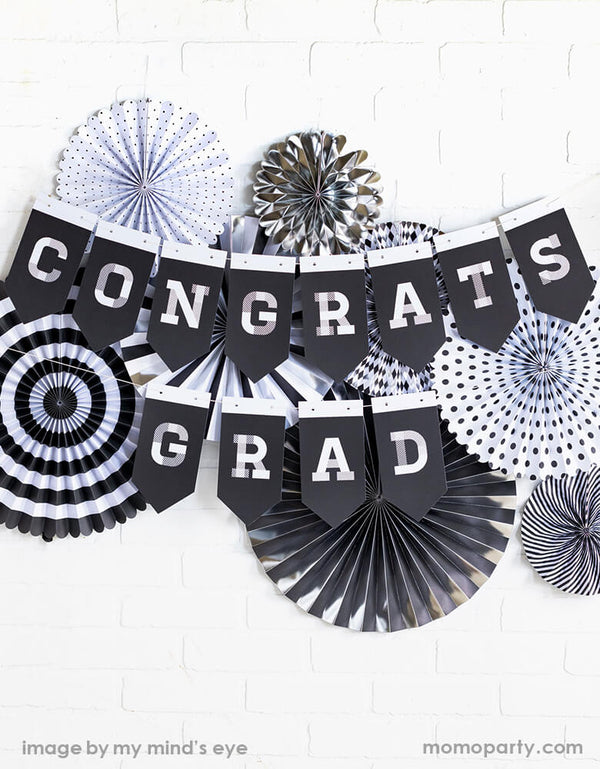 Graduation Party Fans (Set of 8)