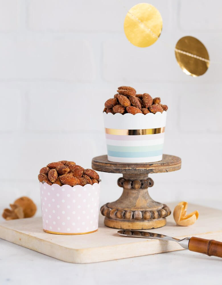 MyMindsEye_Pastel-Foiled-Baking-Cups filled with Almond