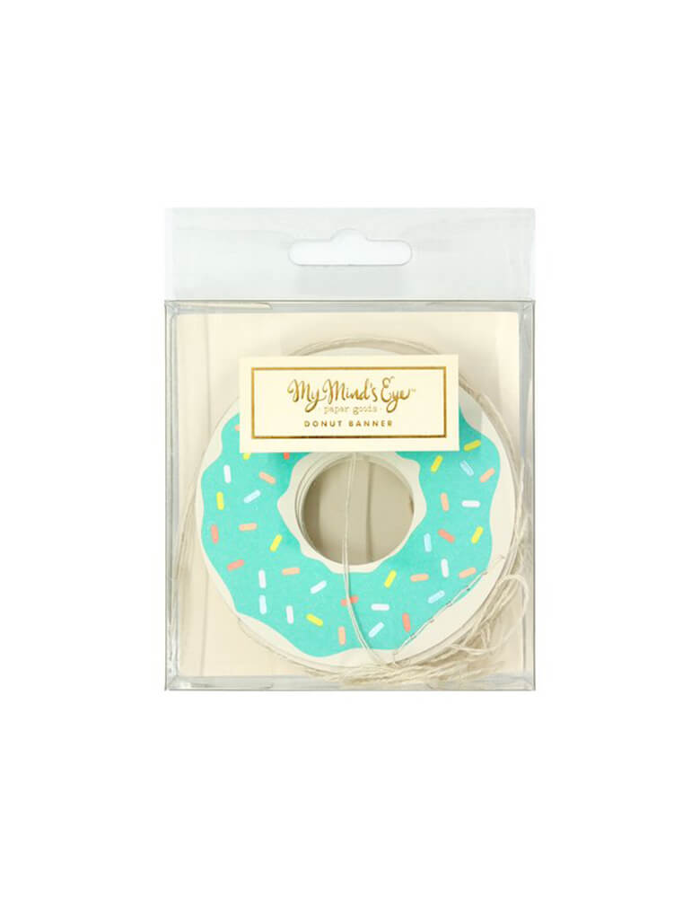 My Minds Eye Neon Donut Banner in package
