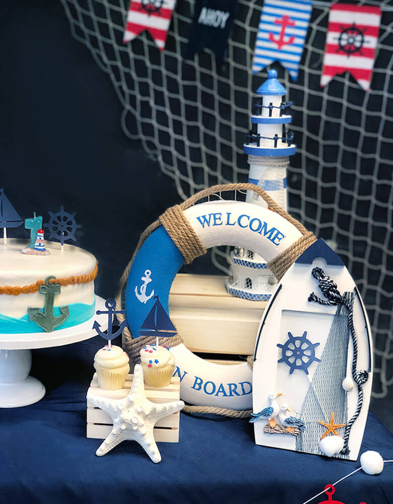 Nautical Party Set up decoration