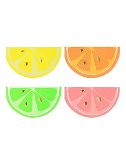 Meri Meri_Neon Citrus Party Napkins_for Fruit Theme Birthday Party