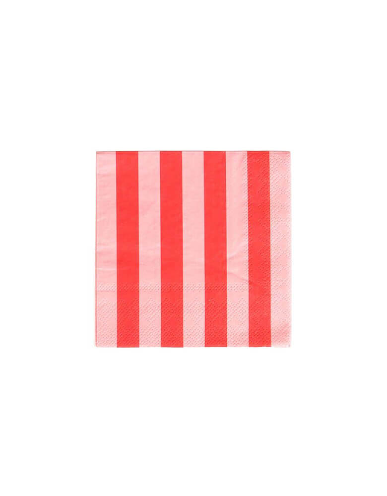Oh-Happy-Day-5-inch Blush-and-Red-Striped-Small-Cocktail-Napkins