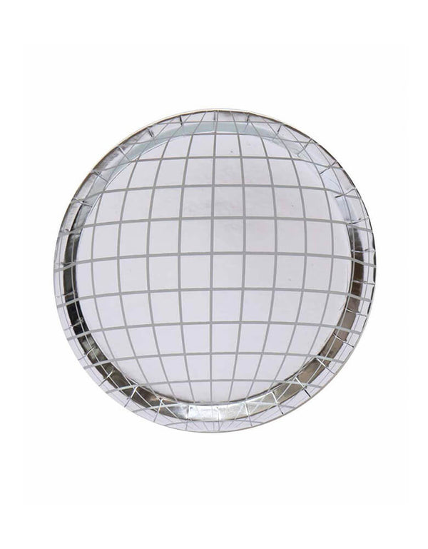 Oh Happy Day Disco Ball Plates