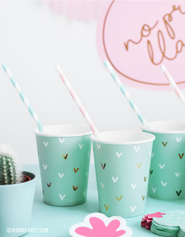 Cactus Paper Cups (Set of 6)
