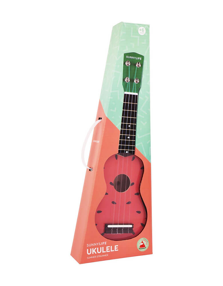 Music instruments Gift box of Sunnylife Watermelon Ukulele