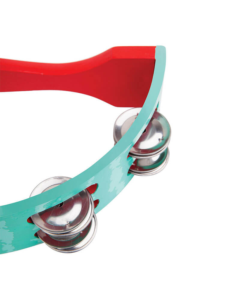 Watermelon Tambourine close up