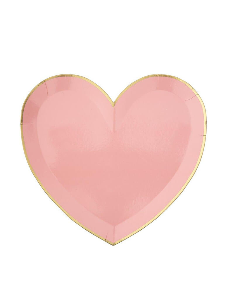 Meri Meri Party-Palette-Heart-Large-Plates in pink