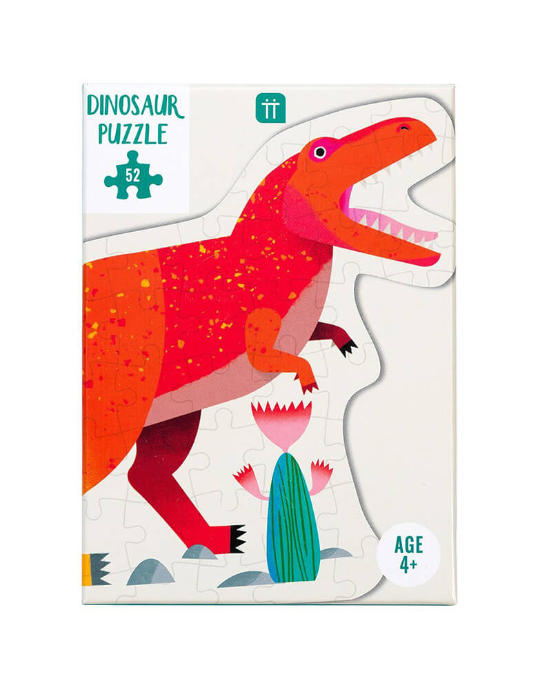 talking tables Party Dinosaur Tyrannosaurus Rex Shaped Puzzle