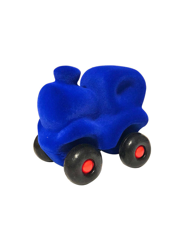 little vehicle Blue Train Baby Toy