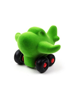 Rubbabu Little Green Airplane Soft Toy, Eco-friendly sensory toys for babies, children and special needs.
