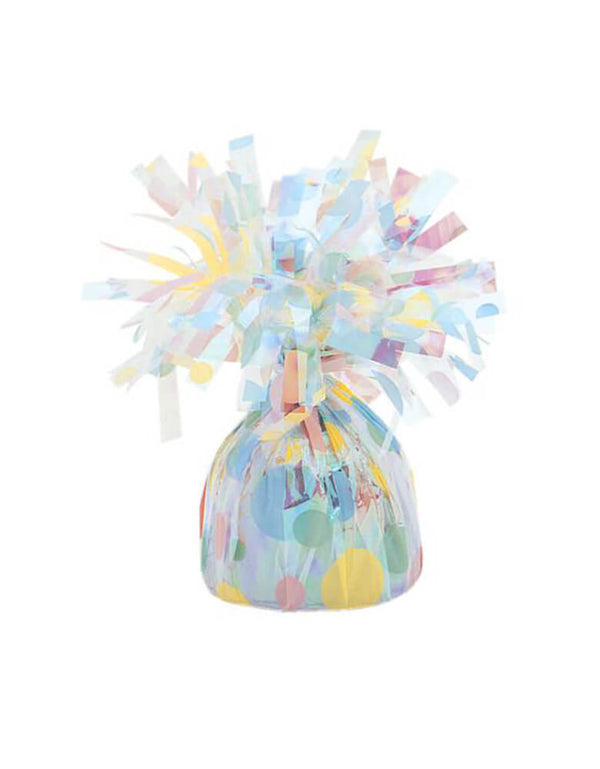 Unique Balloons - Pastel Polka Dots Balloon Weight