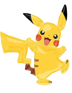 "Anagram 57"" Pokemon Pikachu Airwalker Foil Balloon"