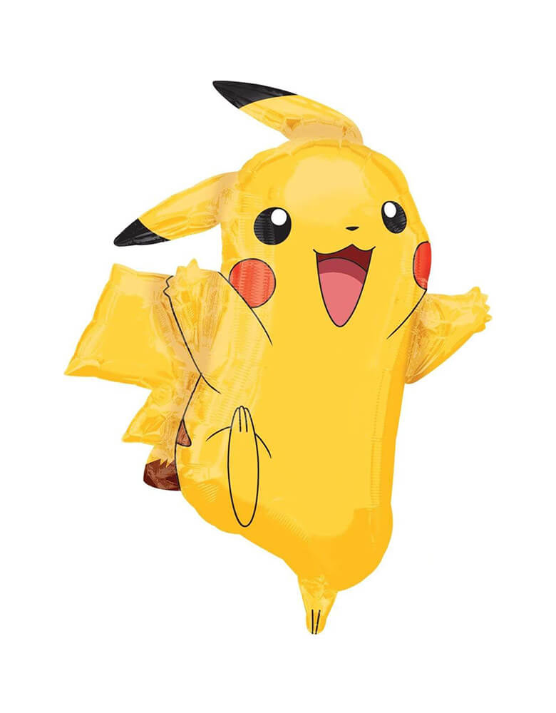 "Anagram 31"" Pokemon Pikachu Foil Mylar Balloon"