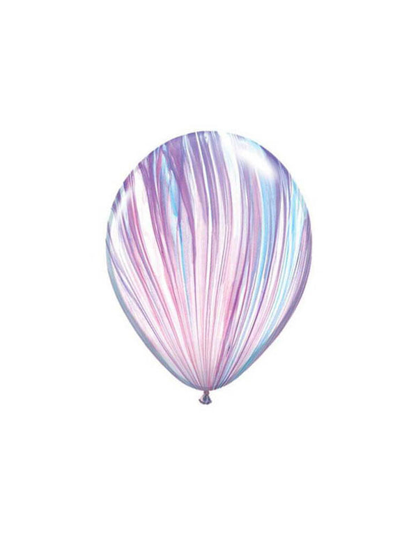 "Qualatex 11"" Fashion Marble SuperAgate Latex Balloon"
