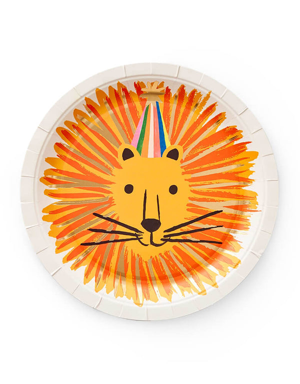 Party Animals Large Plates (Set of 10)