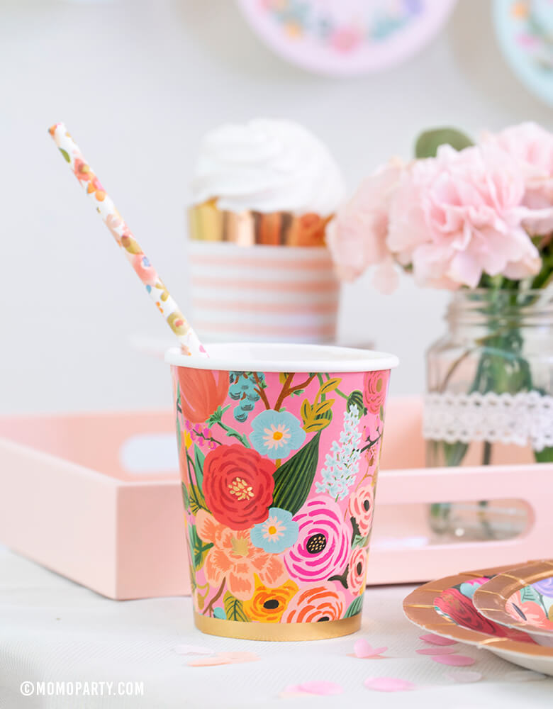 Garden Party Cups (Set of 12)