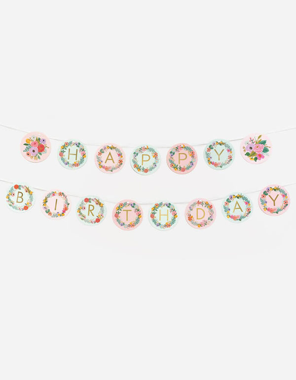 Rifle-Paper_Garden-Party-Happy Birthday Letter-Garland