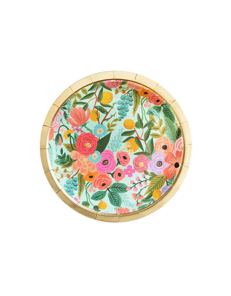Rifle-Paper_Garden-Party-Flower Small-Paper Plates