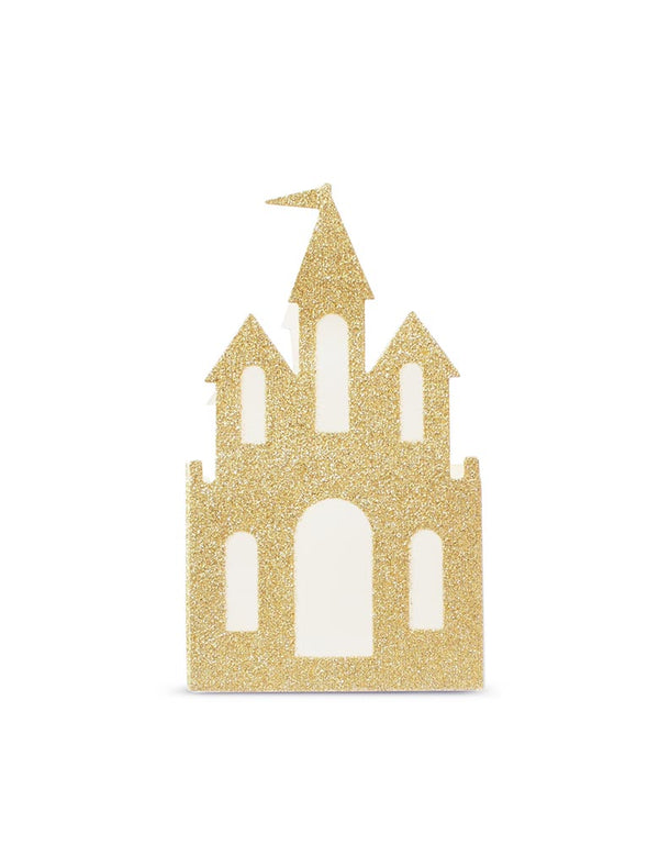 Princess Gold Castle Patry Favor Paper Box